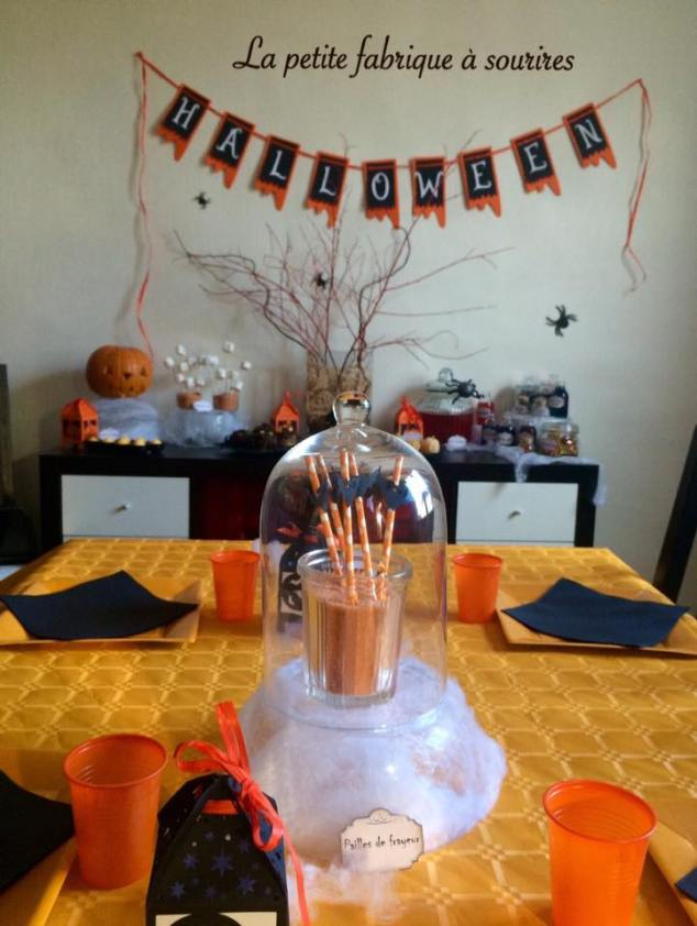 Sweet table Halloween 2015 ©Lapetitefabriqueasourires