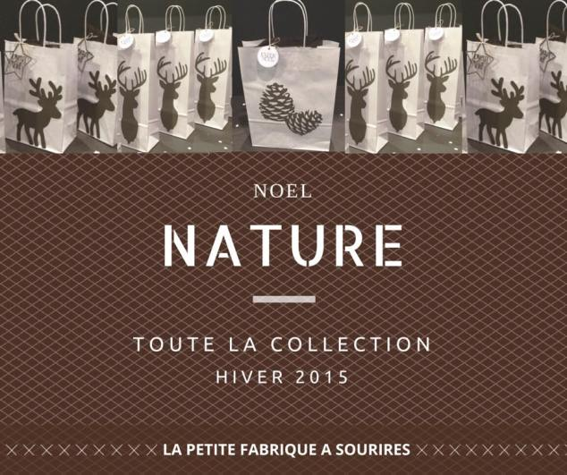 couverture catalogue collection noel nature hiver 2015 ©Lapetitefabriqueasourires