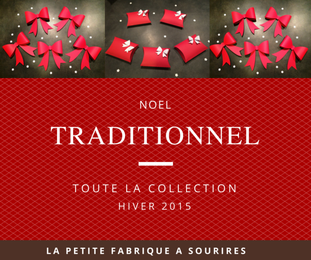 couverture catalogue noël traditionnel